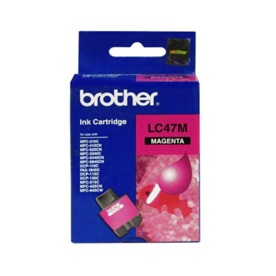 Brother LC47M Magenta Ink