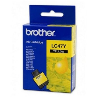 Brother LC47Y Yellow Ink