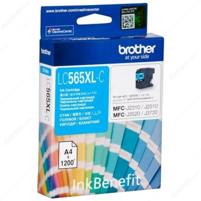 Brother LC565XL Cyan Original Super High Yield