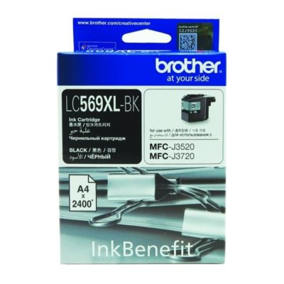 Brother LC569XL Black Original Cartridge