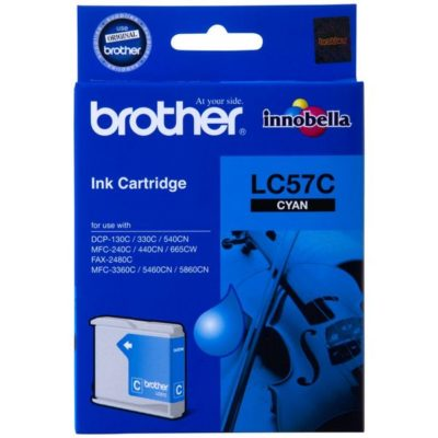 Brother LC57C Cyan Original Cartridge