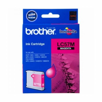Brother LC57M Magenta Original Cartridge