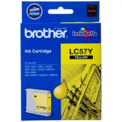 Brother LC57Y Yellow Original Cartridge