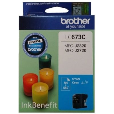 Brother LC675XL Cyan Original Cartridge