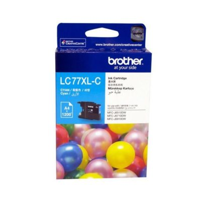 Brother LC77XL Cyan High Yield Cartridge