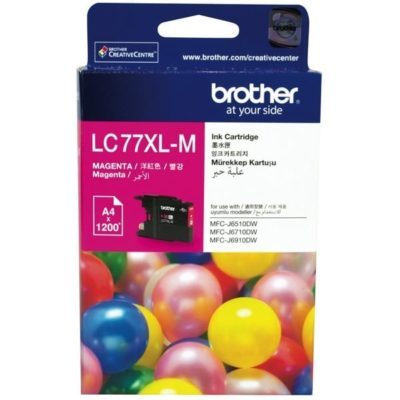 Brother LC77XL Magenta High Yield Cartridge