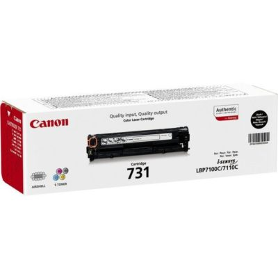 Canon Toner 731 Black Original Std Yield